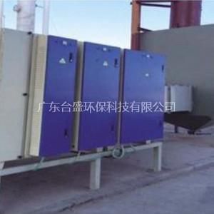 塑胶厂废气等离子光解除臭净化工程